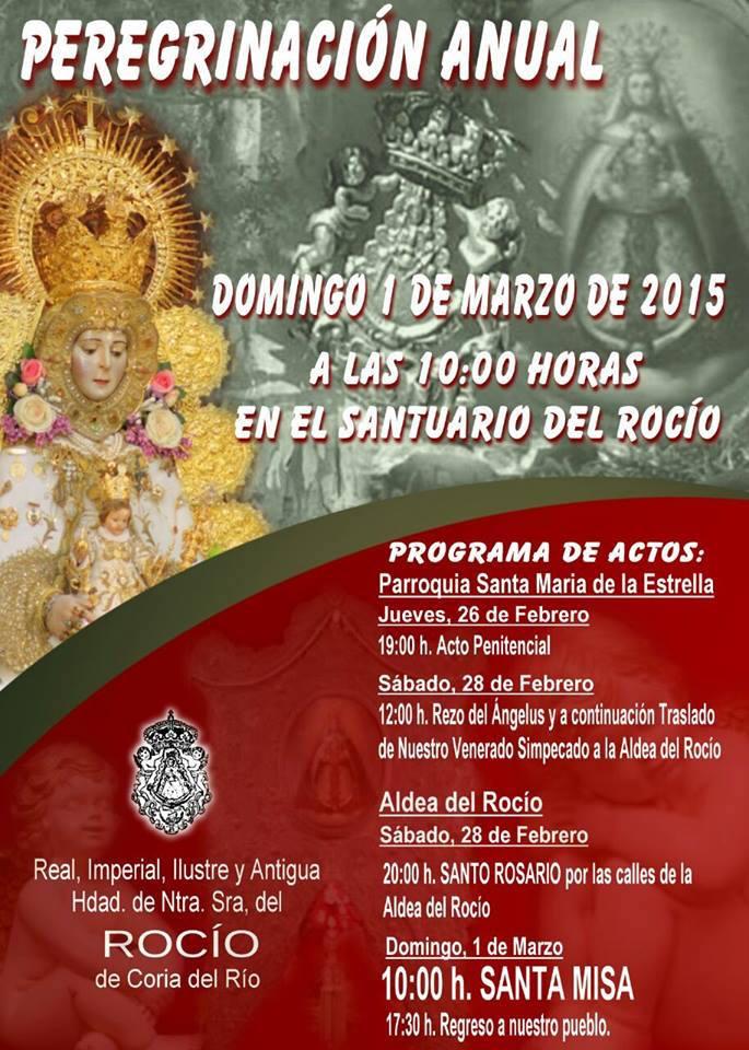 Peregrinacion Coria del Rio 2015