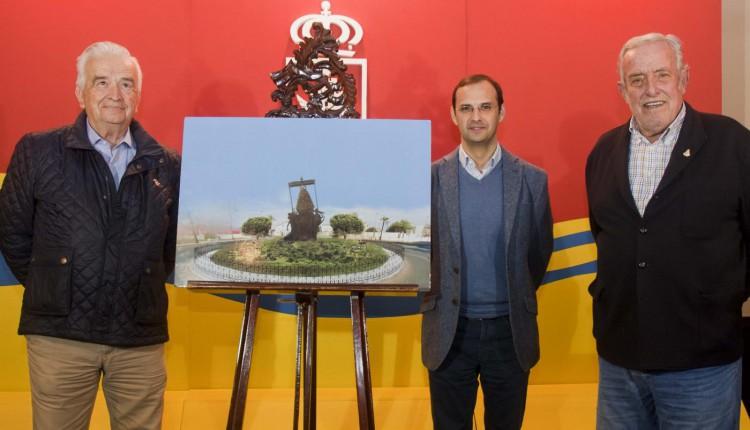 Hermandad de Sanlúcar de Barrameda – Monumento a la Virgen del Rocío