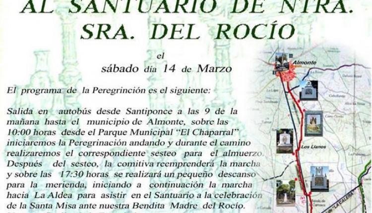 Hermandad de Santiponce – Peregrinación andando al Rocío