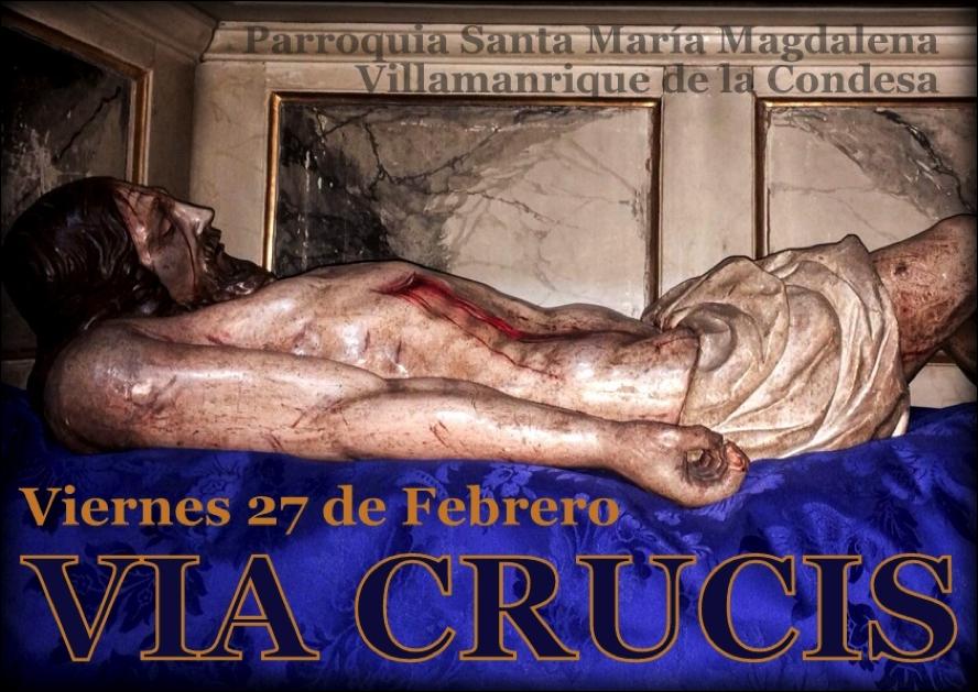 Villamanrrique - via crucis 2015