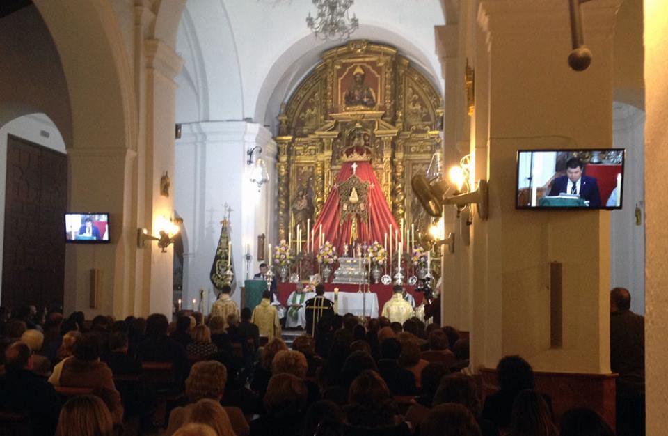 Espartinas - Carlos Amigo ha oficiado la Misa Estacional