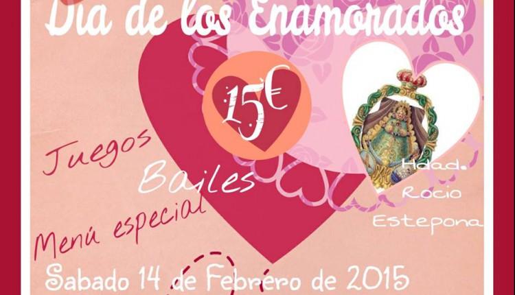 Hermandad de Estepona – Día de San valentín, Cena y fiesta
