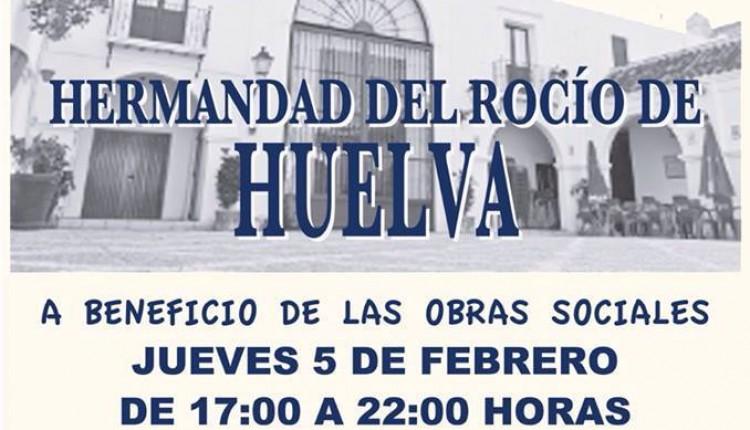 Hermandad de Huelva – Rastrillo Solidario 2015