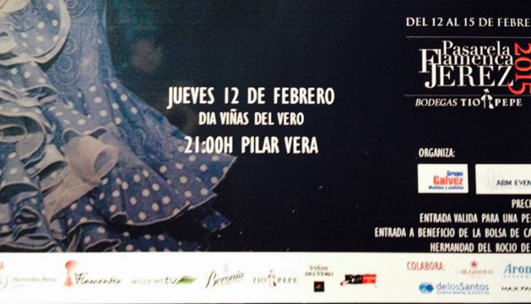 Hermandad de Jerez de la Frontera – Pasarela Flamenca de Jerez 2015