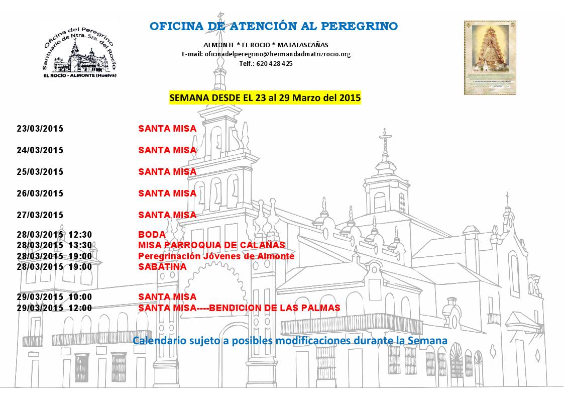 23-29-marzo-2015-oficina atencion peregrino