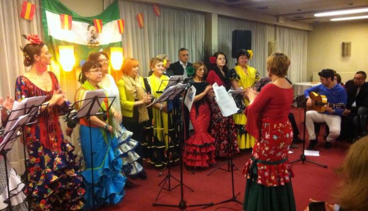 Hermandad de Bruselas – Actuación del Coro en la FASAB por el Día de Andalucía