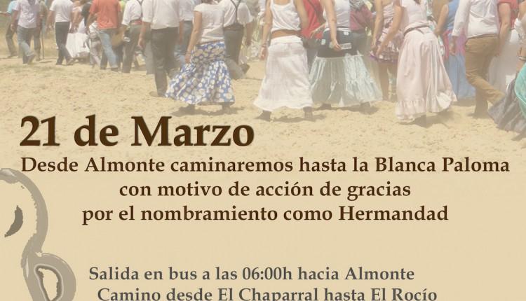 Hermandad de Torremolinos – Camino al Rocío en Acción de Gracias