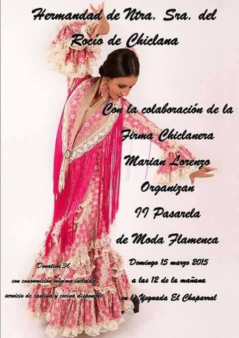 Chiclana pasarela flamenca 2015