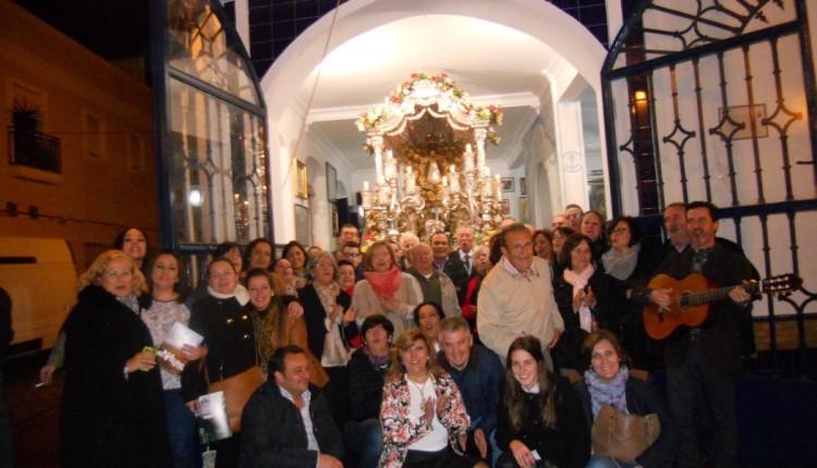 PRESENTACIÓN DEL CARTEL, PREGONERO, SALVE Y ESCUDO DE LA HERMANDAD DEL ROCÍO DE ISLA CRISTINA