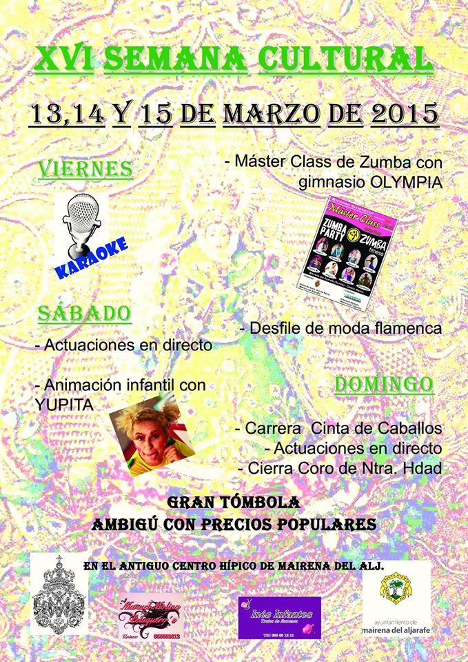 Mairena del aljarafe semana cultural