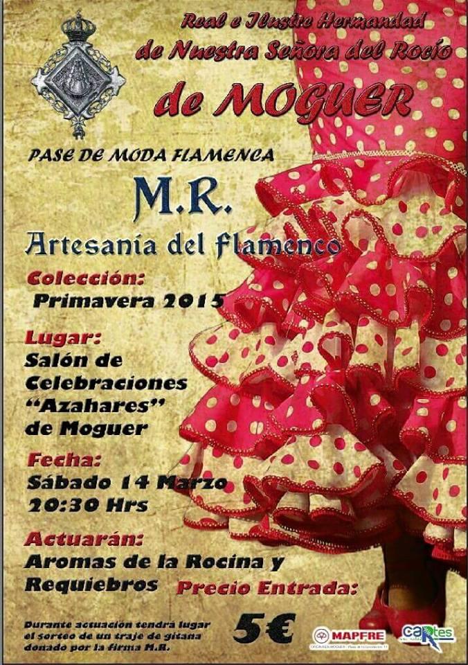 Moguer Pase de Moda Flamenca 2015