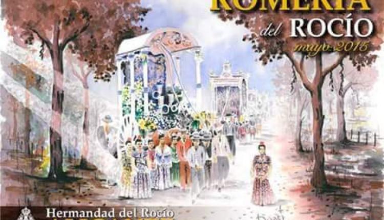 Hermandad de Alicante – Una pintura de Enrique Duart, cartel para la Romería del Rocio 2015