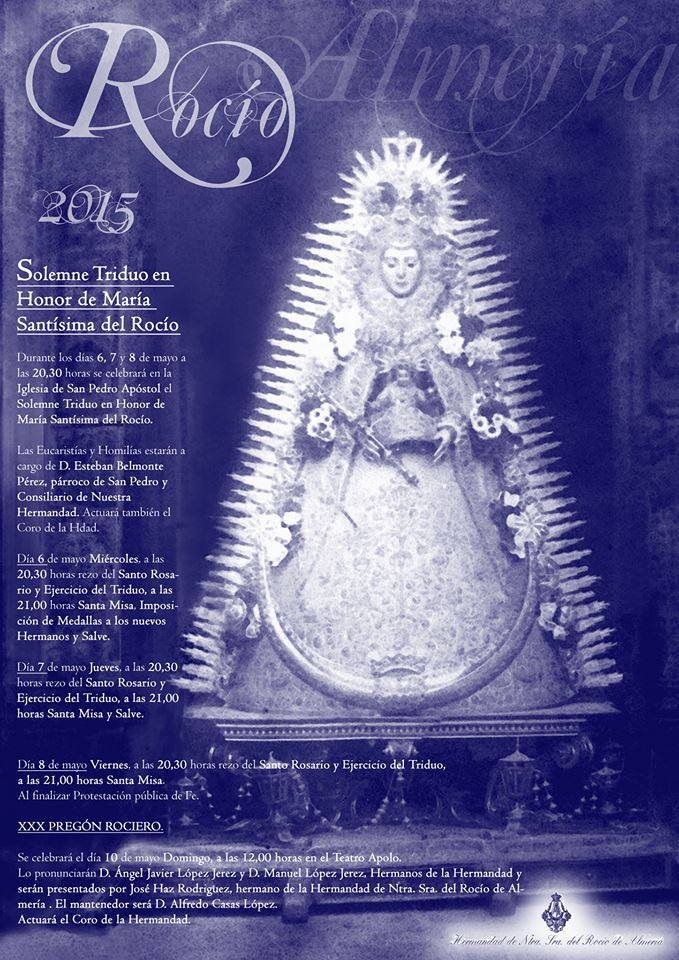 Almeria triduo 2015