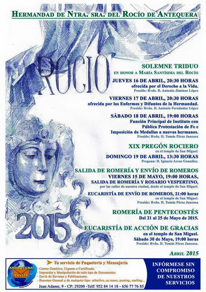 Antequera Triduo 2015