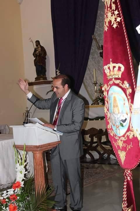 Juan Manuel Martínez Espina - Pregón 2015 Hdad. de Barajas