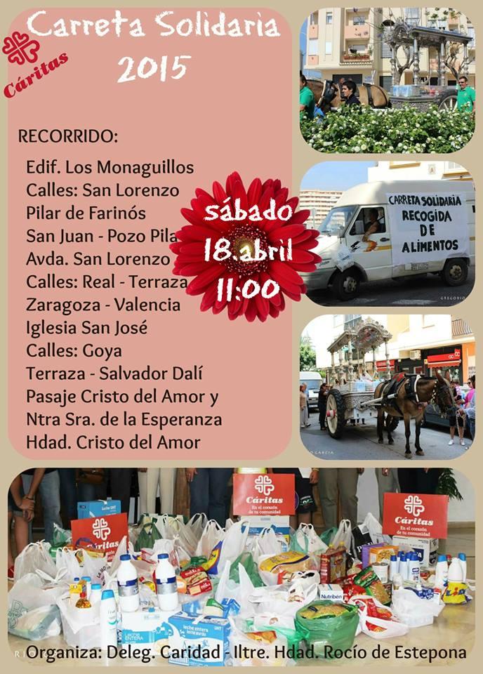 Estepona carreta solidaria 2015