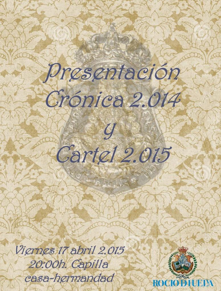 Huelva cronica y cartel 2015