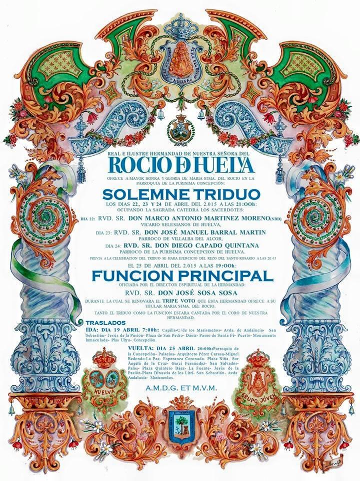 Huelva triduo 2015