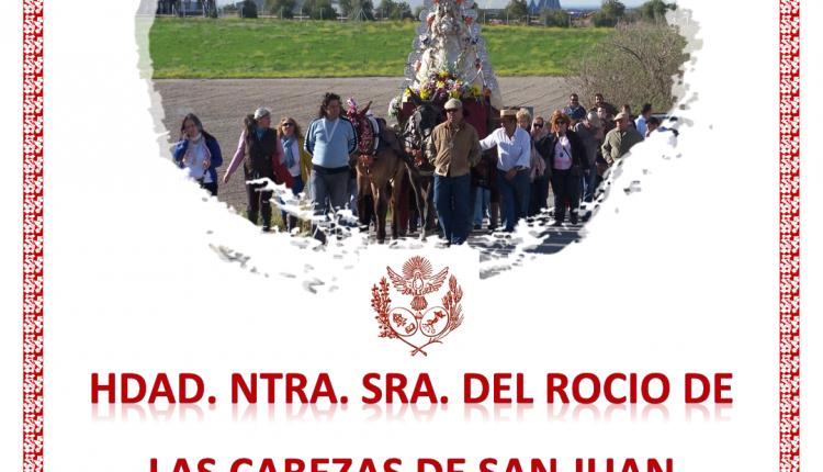 Hermandad de Las Cabezas de San Juan – Traslado Virgen del Rocío de Cotemsa, Cultos 2015 y Actos Varios.