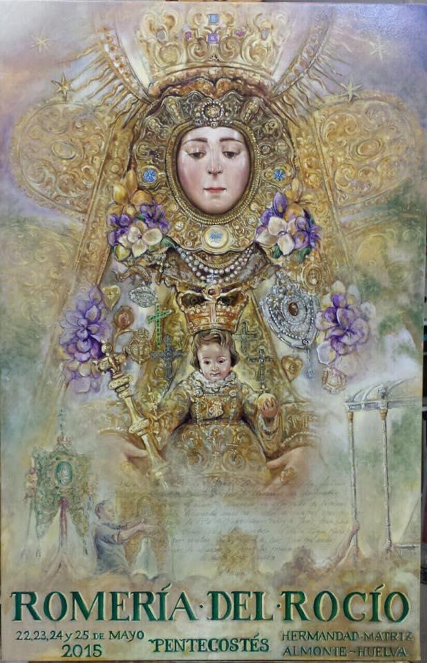 Cartel Oficial de la Romería 2015 obra del pintor FERNANDO JOSÉ AGUADO HERNÁNDEZ