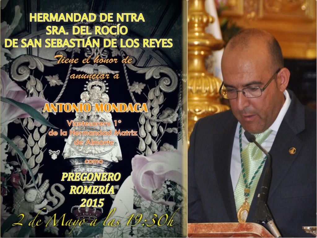San Sebastian de los Reyes-Cartel Pregonero 2015