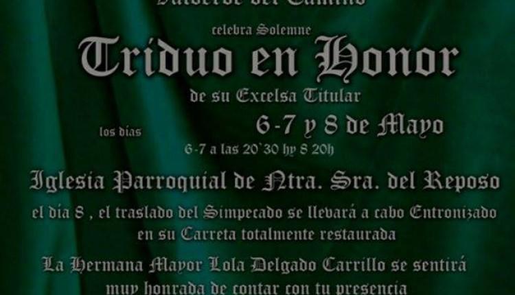 Hermandad de Valverde del Camino – Solemne Triduo 2015