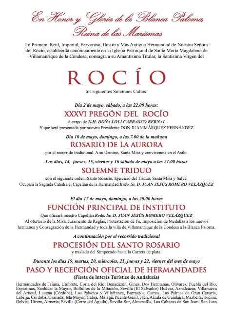 Villamanrrique-programa Cultos 2015-2