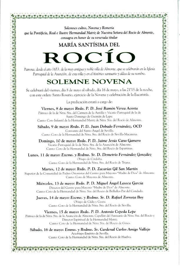 programa rocio 2015-2