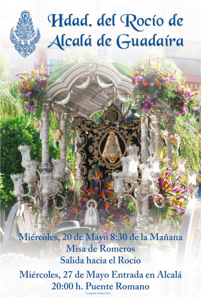 Alcalá de Guadaíra cartel rocio2015