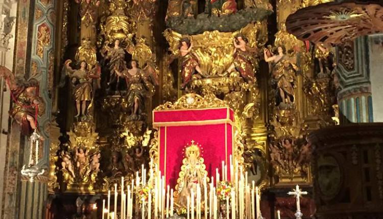 Solemne Quinario de la Hermandad de Sevilla El Salvador 2015