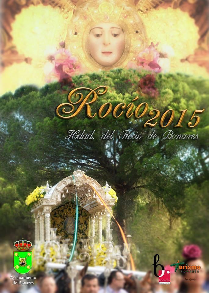 Bonares Cartel Rocío 2015
