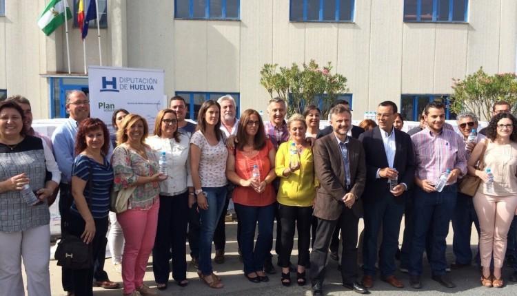 Hermandad de Isla Cristina – Acto organizado por Giahsa, para la entrega de agua