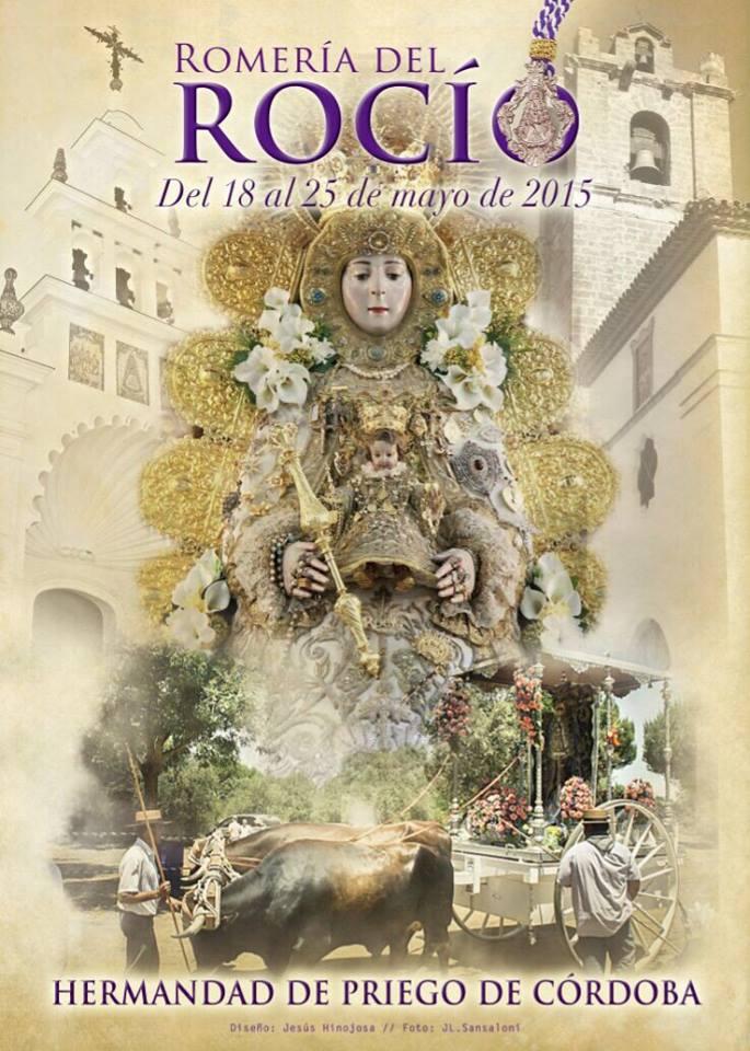 Priego de Córdoba Cartel Rocío 2015