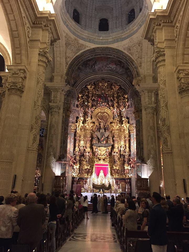 Procesion claustral Hermandad de Sevilla 2015