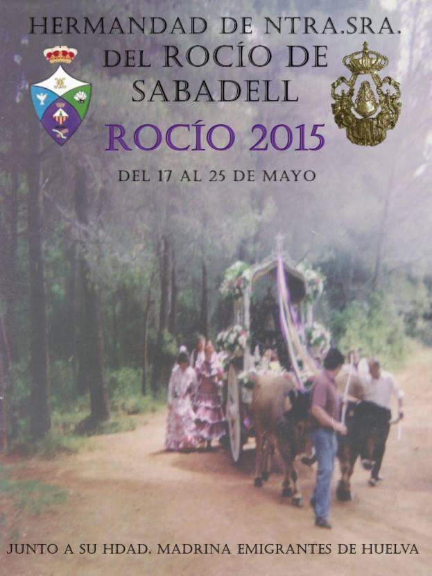 Sabadel cartel rocio 2015