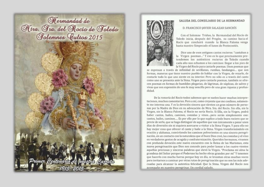 Toledo Programa de Cultos 2015-1