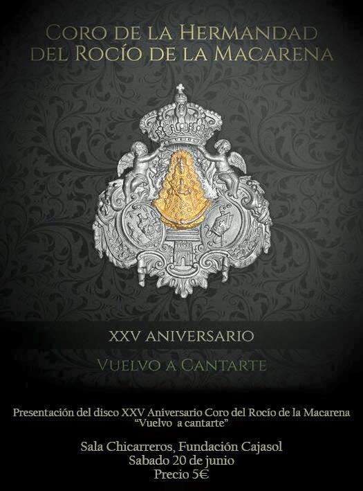 Coro Macarena 2015 presentacion CD-1