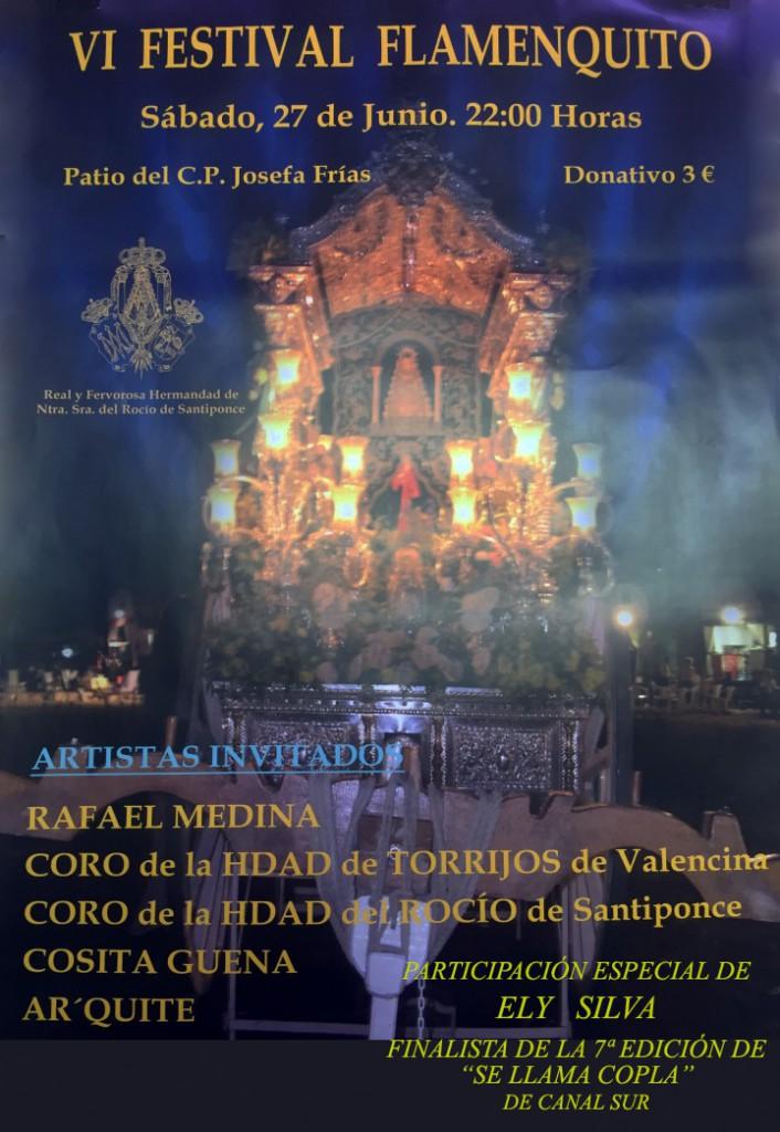 VI Festival Flamenquito_Cartel santiponce
