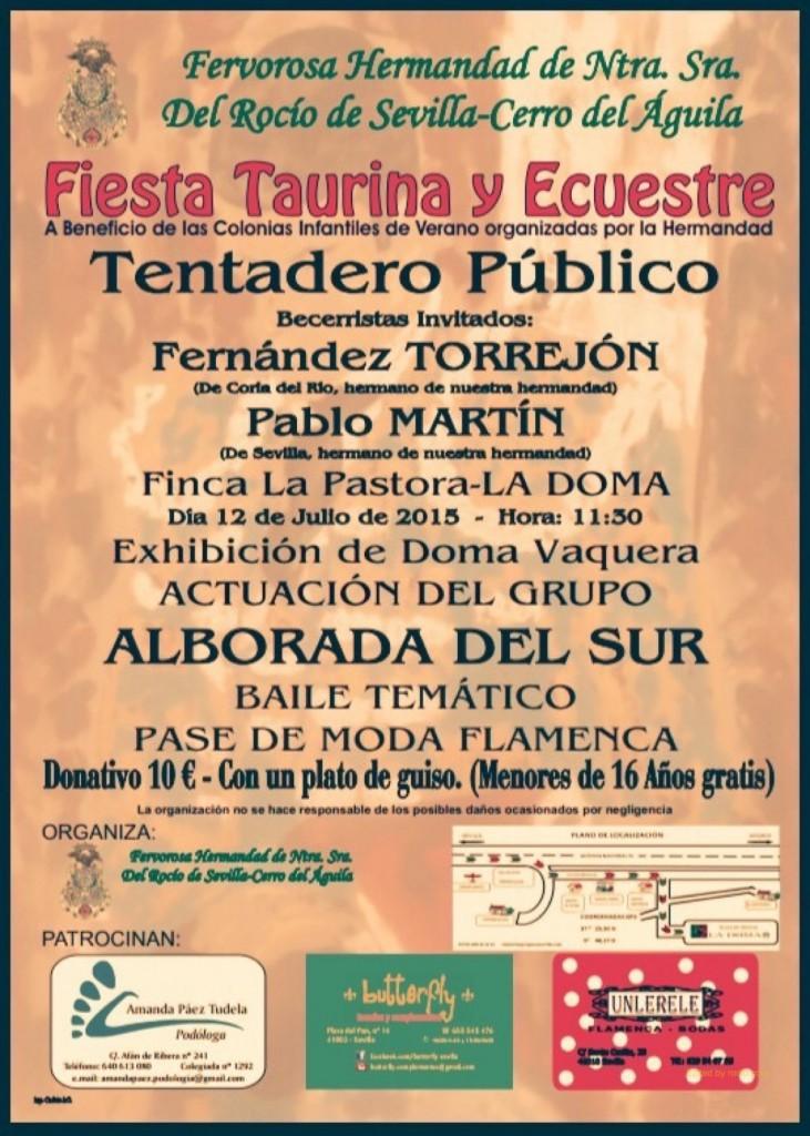 cerro del aguila fiesta taurina 2015