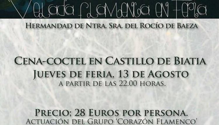 Hermandad de Baeza – Velada Flamenca en la Feria 2015