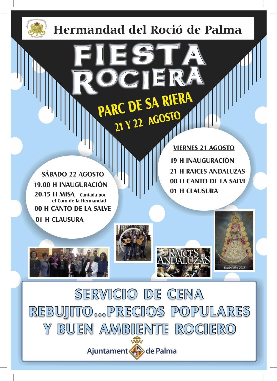 CARTEL DE ROCIERO Mallorca-2 2015