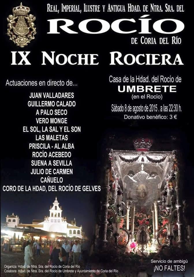 Coria - noche rociera 2015