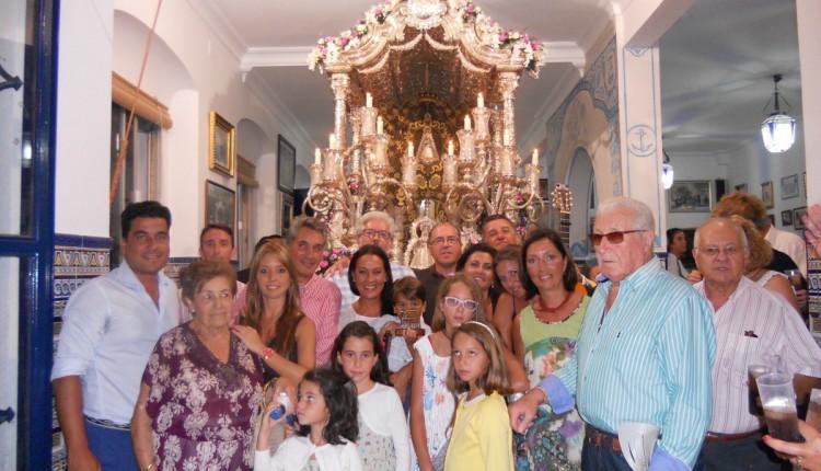 Hermandad de Isla Cristina – Mágica noche con la familia Ramos-León