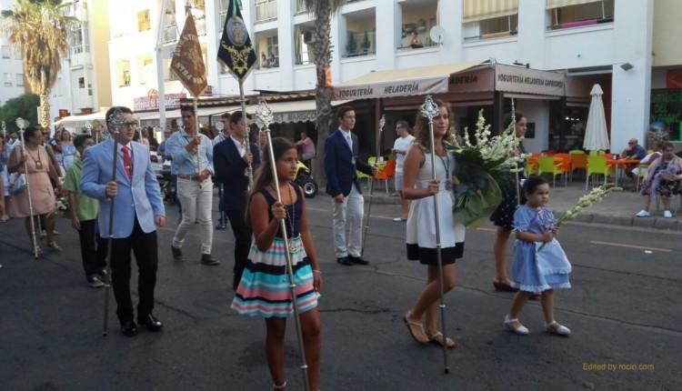 Hermandad de Isla Cristina – Ofrenda de Flores y procesión de la Virgen del Mar
