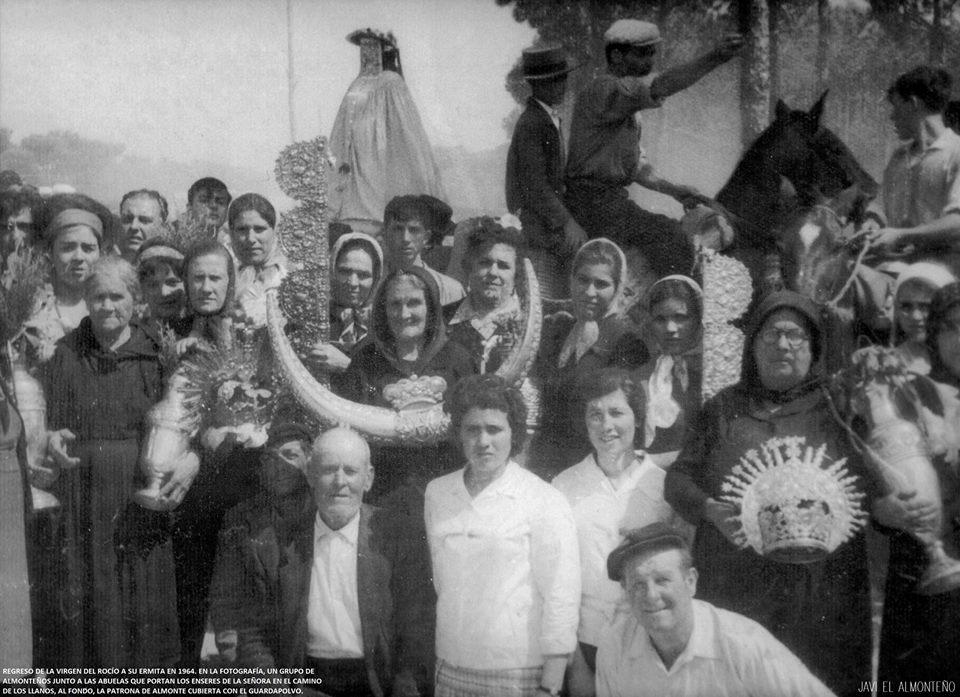 regreso al santuario 1964
