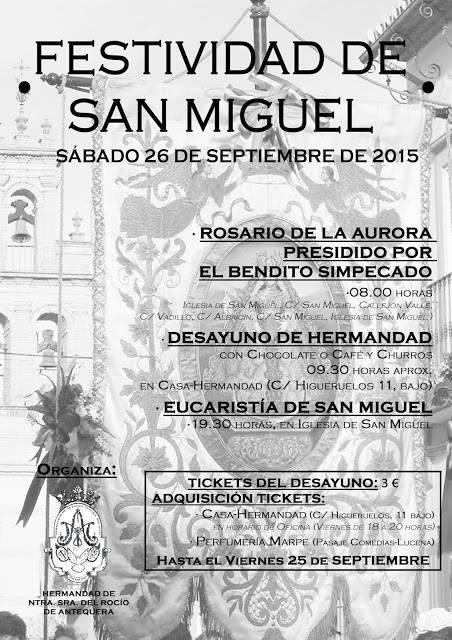 Antequera feria san Miguel 2015