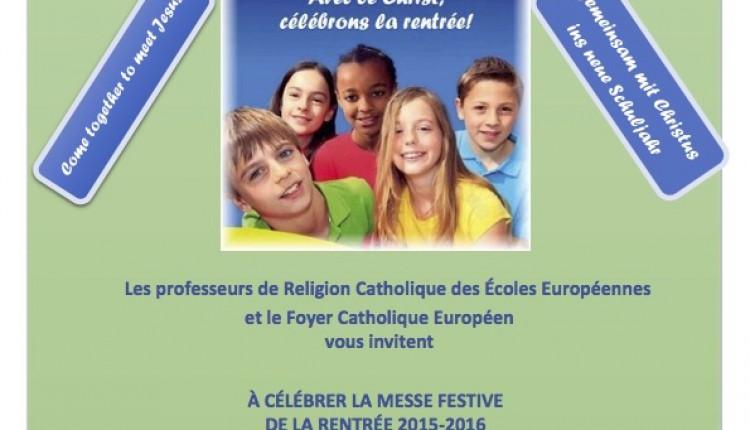 Hermandad de Bruselas – Misa de Comienzo de Curso