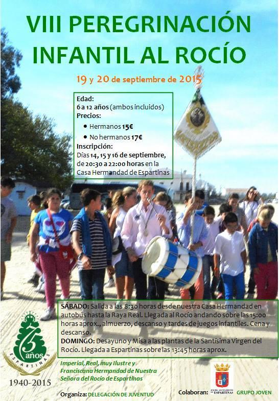 Espartinas peregrinacion infantil 2015