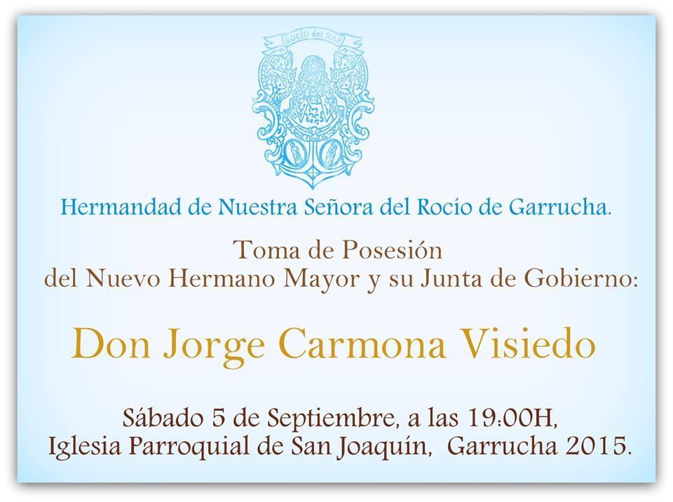 Garrucha toma posesion junta 2015