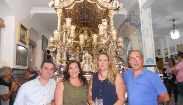 Hermandad de Isla Cristina – Mª JOSÉ ANTERO Y ROCÍO MEDINA CANTAN LA SALVE